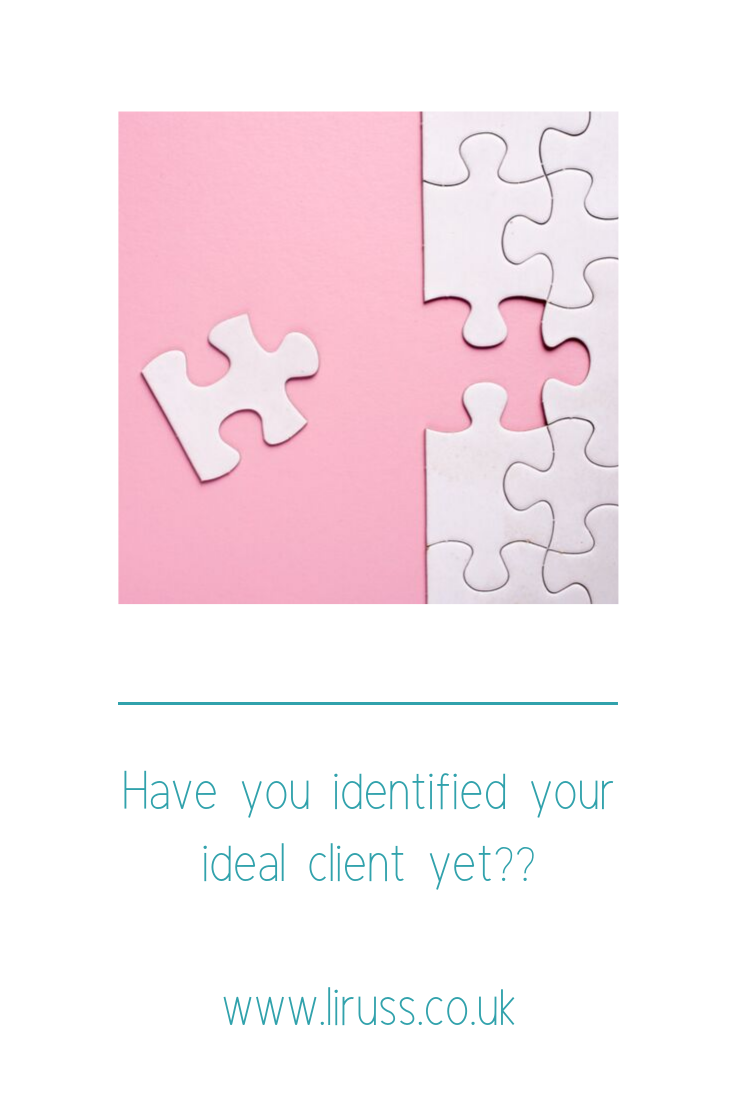 Do you know who your ideal client is?